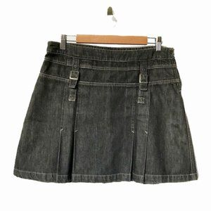 Calvin Klein jeans black denim skirt